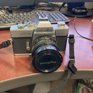 Minolta SRT201 35mm Camera for Sale in Riverside, CA