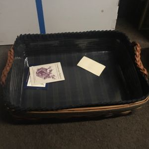 Longaberger Basket 1996 collectors club serving tray for Sale in St. Louis, MO