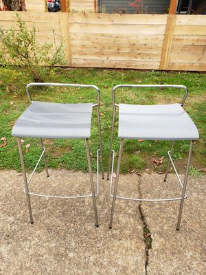PAIR Modern PIIROINEN Bar Stools from Finland-Good Condition PAIR for Sale in Portland, OR