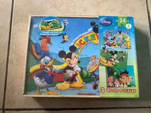 Mickey puzzle game for Sale in Torrance, CA