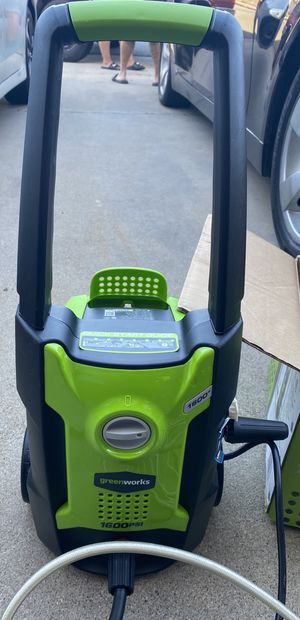 Greenworks Electric Pressure Washer for Sale in San Marcos, CA