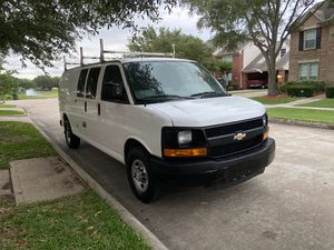 2014 Chevy express van extended for Sale in Channelview, TX