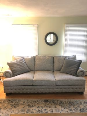 Sofa and Loveseat with Pillows - Foster II for Sale in South Attleboro, MA