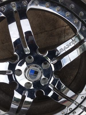 22in asanti rims for Sale in Cleveland, OH