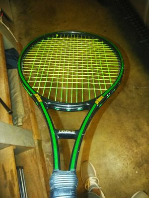 Prince graphite oversize tennis racket for Sale in Riverside, CA
