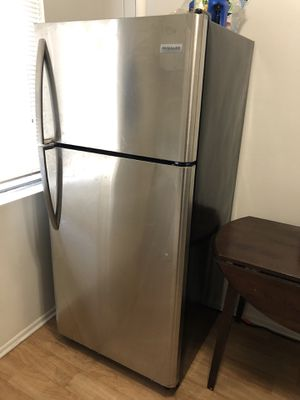 Frigidaire FFTR1821TS 18 Cu. Ft. Top-Freezer Refrigerator - Stainless Steel for Sale in Hawthorne, CA