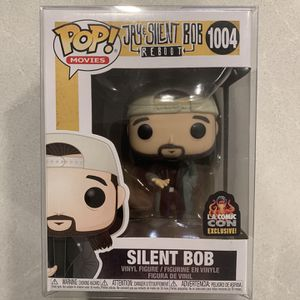 Silent Bob Funko Pop *MINT IN HAND* 2020 LACC Convention Exclusive Jay JSB J&SB Reboot 1004 with protector for Sale in Lewisville, TX