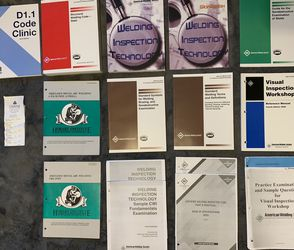Welding Inspection Books for Sale in Vancouver,  WA