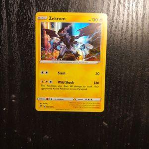 Pokemon Card: Zekrom (060/185) Holo Rare for Sale in Franklin, IN