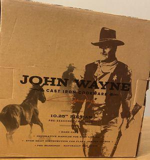Cast Iron 10.25in. Pie Pan - John Wayne Cookware for Sale in Kenmore, WA