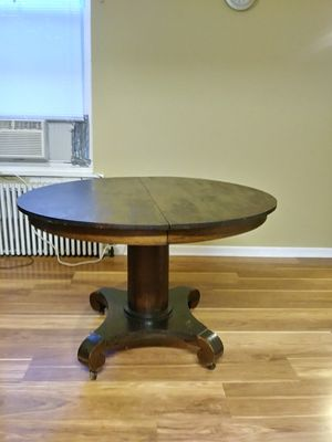 Wood table. Antique width is 45 inch height inch 30 for Sale in Philadelphia, PA