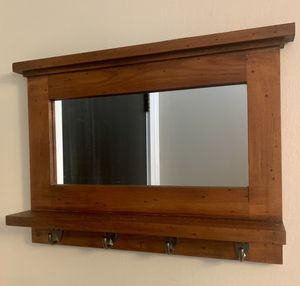 Wall Mirror with Hooks for Sale in Scottsdale, AZ