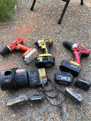 Power tools and batteries for Sale in Nashville, TN