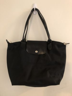 Small Longchamp Tote Bag Black for Sale in Enfield, CT