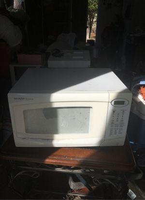White Microwave (SHARP carousel) for Sale in Pomona, CA
