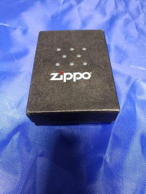 Brand New Zippo Lighter Black Ice Chrome $30obo for Sale in San Bernardino, CA
