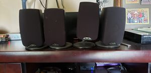 4 klipsch speaker asking $100 PRICE IS FIRM PICK UP ONLY NO TRADES NO HOLDS for Sale in North Las Vegas, NV