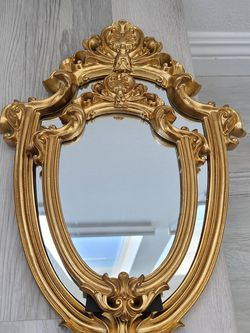 Vintage Gold Solid Risen Wood Mirror for Sale in Santa Ana,  CA