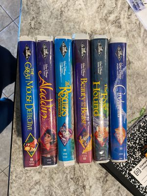 6 black diamond Disney movies for Sale in Phoenix, AZ