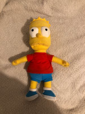 Bart Simpson Stuffed Animal for Sale in Bothell, WA