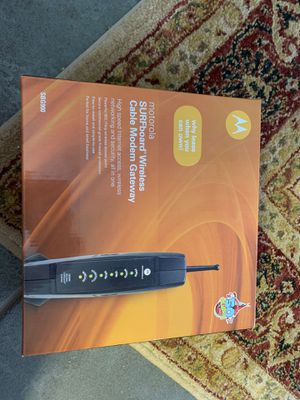 SBG900 cable modem for Sale in San Antonio, TX