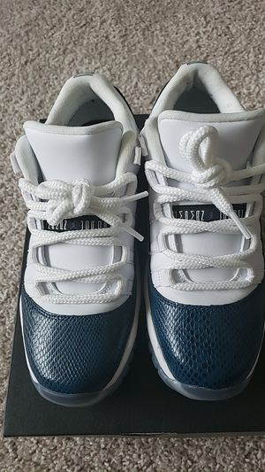Air Jordan 11 low blue snakeskin for Sale in The Colony, TX