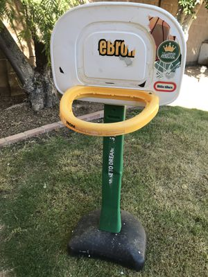 Adjustable little tykes basketball hoop for Sale in Gilbert, AZ
