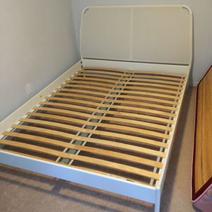 Queen bed frame from IKEA for 229+tax for Sale in Sammamish, WA