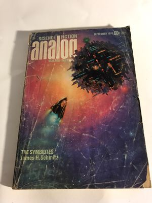 Analog Science Fiction Magazine - September 1972 for Sale in San Francisco, CA