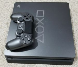PS4 SLIM 1TB Limited Gray Console Controller Playstation 4 system for Sale in Denver, CO