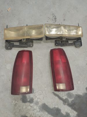 Chevy 1990 454 ss lights and tailgate for Sale in Aurora, IL