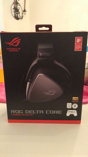 Right delta core gaming headset for Sale in Lawrenceville, GA