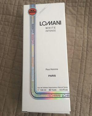 Cologne Lomani white intense for man for Sale in Miami, FL