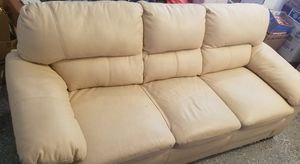 Comfortable Leather Couch for Sale in Leesburg, VA