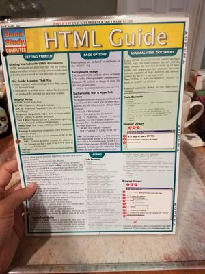 Html Guide (Quick Study Computer) for Sale in Las Vegas, NV