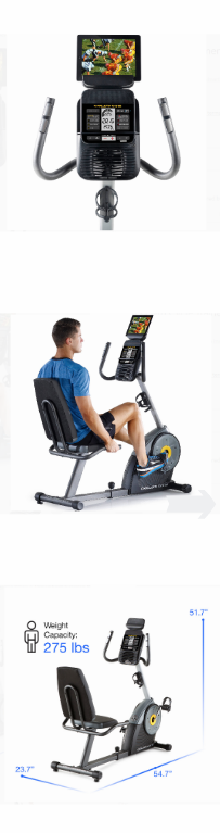 NEW Indoor Exercise Bike Home Gym Cardio Workout Cycle Routine Recumbent Pro Spinning Training Cycling Fitness Personal Machine *↓READ↓* for Sale in Chula Vista, CA