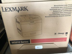 Lexmark MS810DN: Brand new with paper feed addition for Sale in Portland, OR