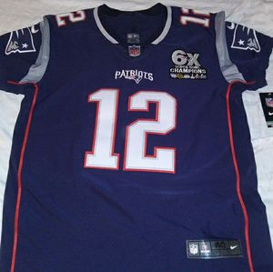 Brady Patriots Nike Vapor Elite, 6X Champs Patch Jersey - Sz Medium for Sale in Blackwood, NJ