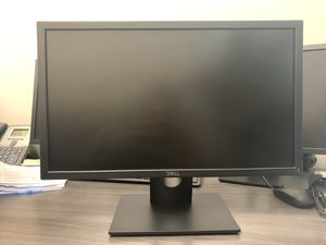 """Dell 23"""" computer monitor (with power & VGA connector) for Sale in New York, NY"""