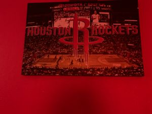 Rockets poster for Sale in Houston, TX