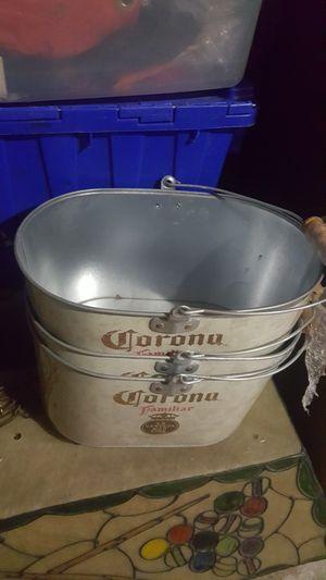 Corona beer buckets cooler for Sale in McKees Rocks, PA