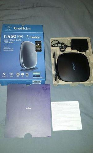 Belkin N450 Wi-Fi Router for Sale in Kernersville, NC