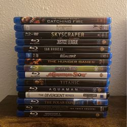 BLU RAY MOVIES for Sale in Spring,  TX