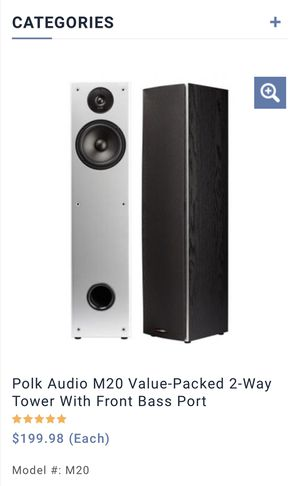 Surround sound - Home Theater System. Polk Audio for Sale in Woodinville, WA