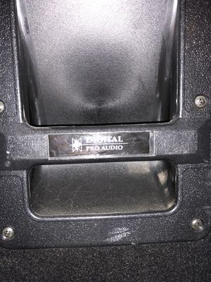 Digital pro audio dj/concert speakers for Sale in Beaverton, OR