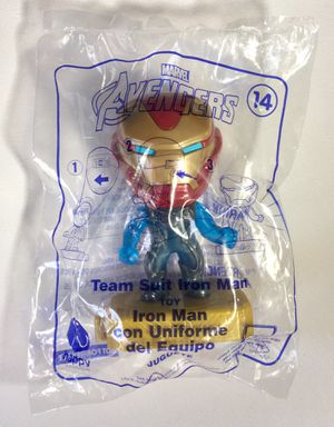 McDonald's Marvel Avengers Toy #14 Team Suit Iron Man for Sale in Los Angeles, CA