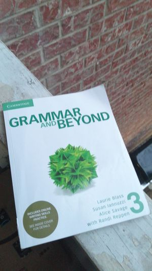 Cambridge Grammar and beyond (3) Advanced level for Sale in Bedford, TX