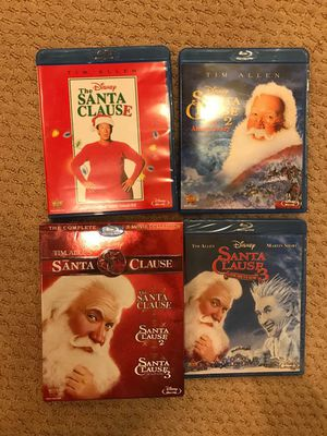 Santa Claus collection 3 blu ray for Sale in Grafton, MA