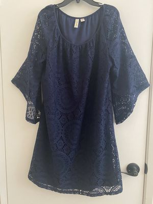 BLUE DRESS!! Sise L for Sale in Heber, CA