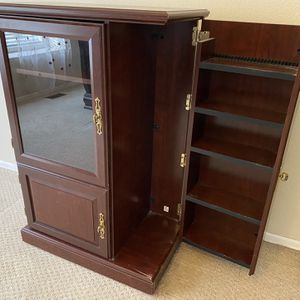 Sauder TV Entertainment Stand Media Cabinet for Sale in Lakewood, CO